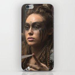 Lexa 01 iPhone Skin