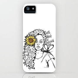 #STUKGIRL QUEEN iPhone Case