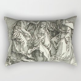 Durer – the assumption of Mary Rectangular Pillow