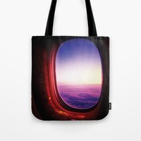 aperture Tote Bags featuring aperture by Gray
