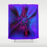 angel wings Shower Curtains featuring Angel Wings by Artist TLynn Brentnall