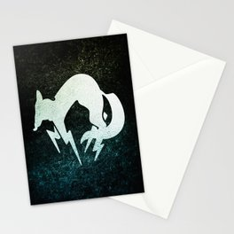 foxhound metal gear solid Stationery Cards