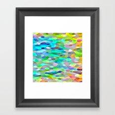 In The Swim Framed Art Print