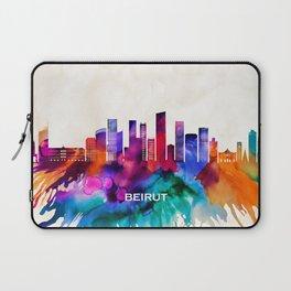 Beirut Skyline Laptop Sleeve