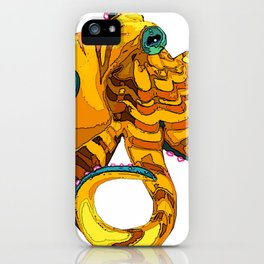 Blue-Ringed Octopus iPhone Case