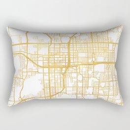 ORLANDO FLORIDA CITY STREET MAP ART Rectangular Pillow
