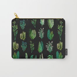 green garden at nigth water color version Carry-All Pouch