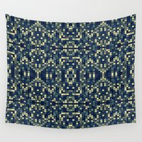 mosaic Wall Tapestries featuring Mosaic by SimplyChic