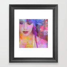 Suspend the moment Framed Art Print
