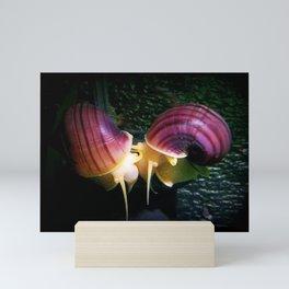Snaily Kisses Mini Art Print