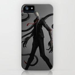 Slenderman iPhone Case