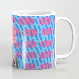 Walking Dot Coffee Mug