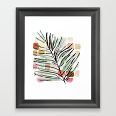 Darling, Through This Way: Under The Leaves Framed Art Print
