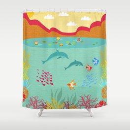 Sealife Shower Curtain