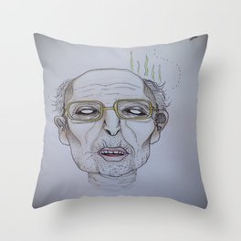 """He swims with the fishes"" -The Godfather Throw Pillow"