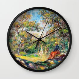 Woman In The Forest - Digital Remastered Edition Wall Clock