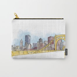 Pittsburgh Sister Bridge Carry-All Pouch