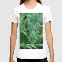 fern T-shirts featuring fern by Dar'ya Vlasova