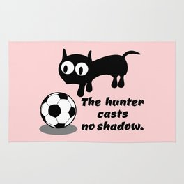 Cat Football Rug