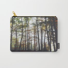 Autumn Forest Trees Carry-All Pouch