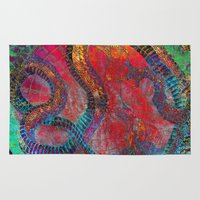 chinese Area & Throw Rugs featuring Chinese Dragon  by jbjart