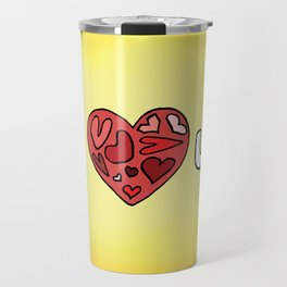 i heart u Travel Mug