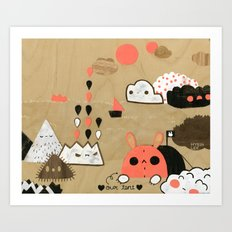 Tobermory Art Print