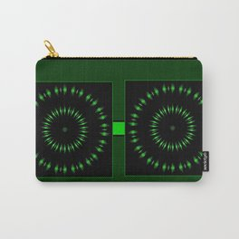 Expanding Green Carry-All Pouch