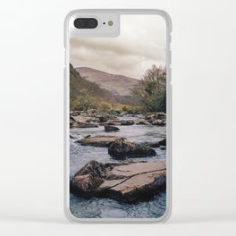 Take Me Away - Snowdonia Wales Clear iPhone Case