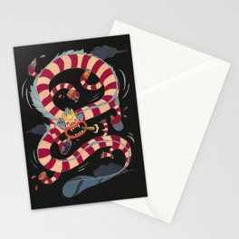 Drunk Dragon Stationery Cards