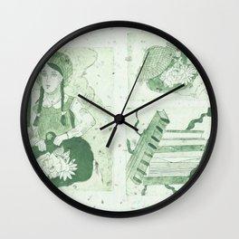Anne of Gren Gables Green Wall Clock