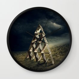 House of Cards Wall Clock