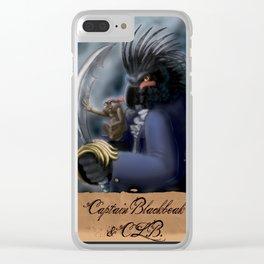 Captain Blackbeak Clear iPhone Case
