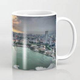 Sunset at Marina Bay, Singapore Coffee Mug