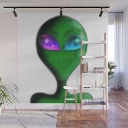 Alien Eyes Wall Mural