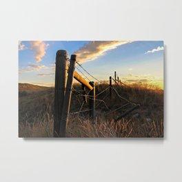 Farm Life Metal Print