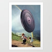 kids Art Prints featuring kids by Hugo Barros