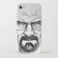 walter white iPhone & iPod Cases featuring Walter White by 13 Styx