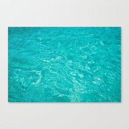 Cabo Water III Canvas Print