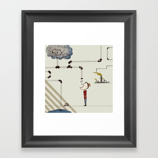 cycle Framed Art Print