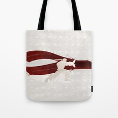 Friendship & Fireballs (Homage to Ryu of Street Fighter) Tote Bag