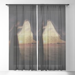 Unveiling Sheer Curtain