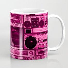 house of boombox : the pink print Coffee Mug