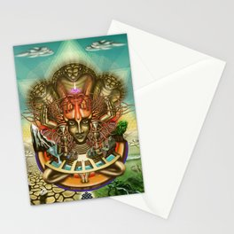 Young Sadhu's visionary pilgrimage Stationery Cards