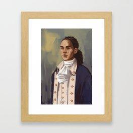 John Laurens Framed Art Print