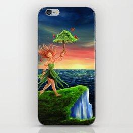 The earths spirit iPhone Skin