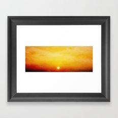 WarmSun Framed Art Print