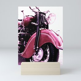 Motorcycle Mini Art Print