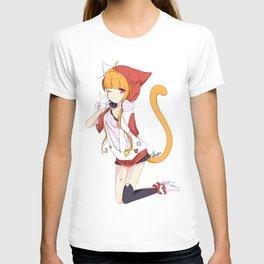 Punky Catgirl T-shirt
