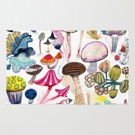 Mushroom Collection - b r i g h t s Rug